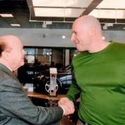 Jimmy Pattison and Michael Ruge